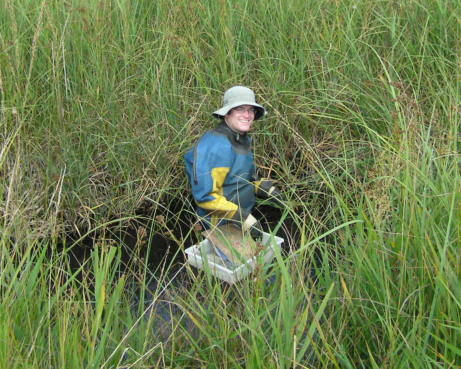 Phil Pearson studied the autecology of Fen Raft Spiders